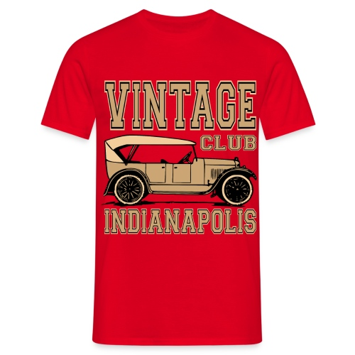 Vintage car club 02 - Men's T-Shirt