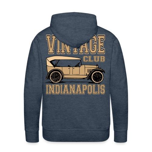 Vintage car club 02 - Men's Premium Hoodie