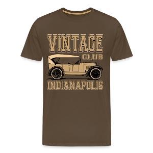 Vintage car club 02 - Men's Premium T-Shirt