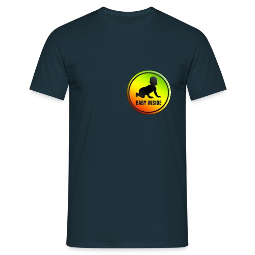 Babyinside - Männer T-Shirt