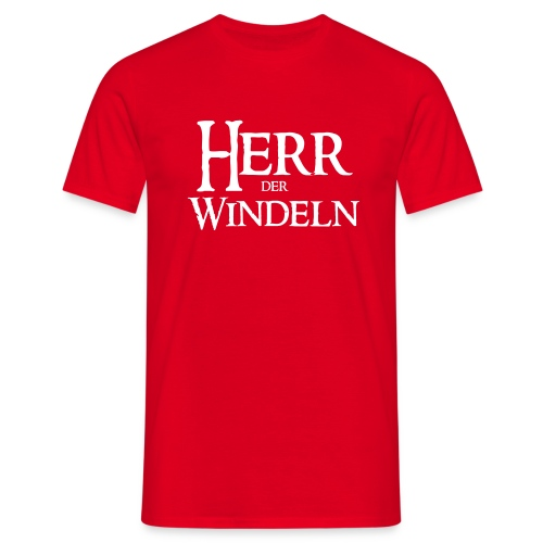 Herr der Windeln - Männer T-Shirt