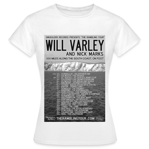 The Rambling Tour Poster - Women's T-Shirt