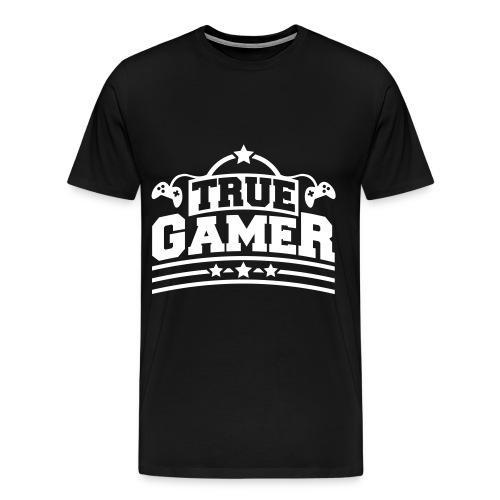 True Gamer - Men's Premium T-Shirt