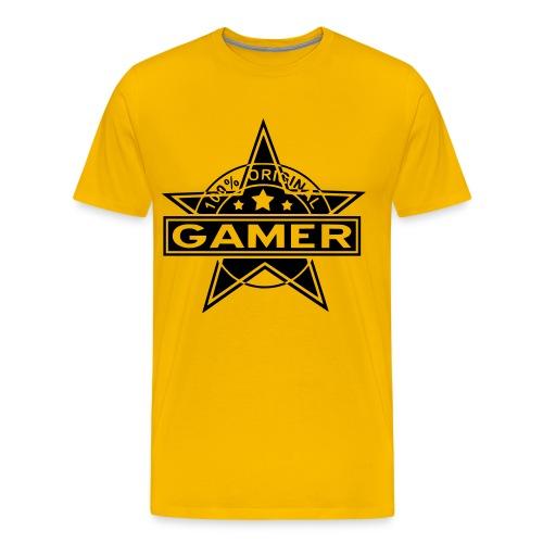 100% Original Gamer - Men's Premium T-Shirt