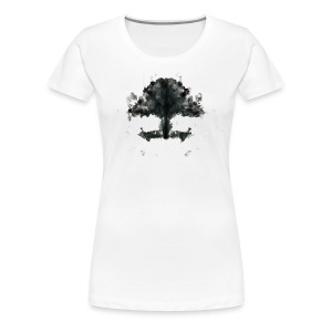 Rorschach Bonsai - Women's Premium T-Shirt