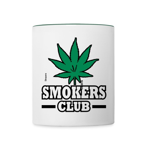 Smokers Club Mug - Contrasting Mug