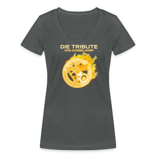 Mädchen-Shirt Tribute 2014 - Frauen Bio-T-Shirt mit V-Ausschnitt von Stanley & Stella