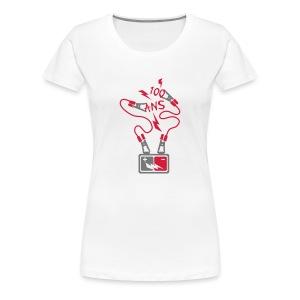 100 Ans batterie - T-shirt Premium Femme