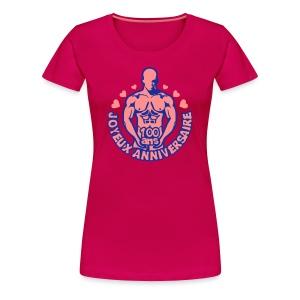 100 Ans feuille vigne - T-shirt Premium Femme