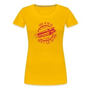 100 Ans sent le sapin - T-shirt Premium Femme