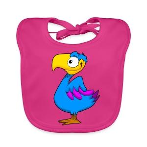 Vogel baby slabber - Bio-slabbetje voor baby's