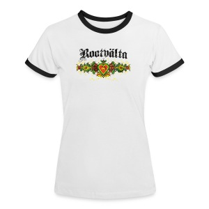 Kontrast-T-shirt dam