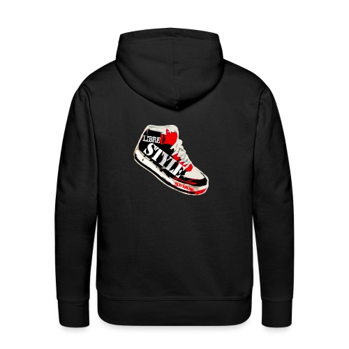 SWEAT LOGO ROUGE - Sweat-shirt à capuche Premium pour hommes