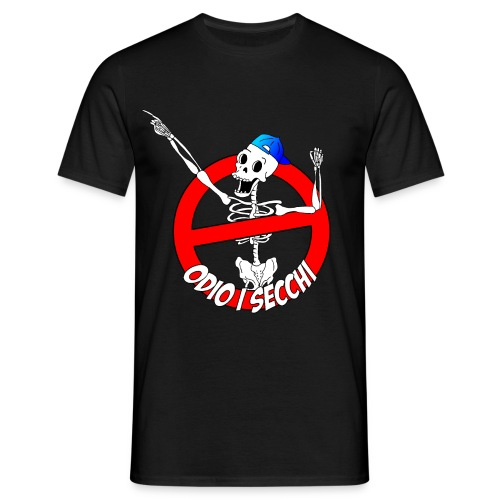 LOGO Maglietta Nera - Maglietta da uomo