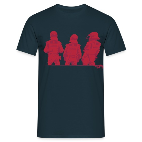 Polizei - Männer T-Shirt