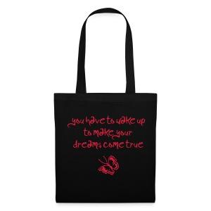 BUTTERFLY/GUN BAG RED - Tas van stof