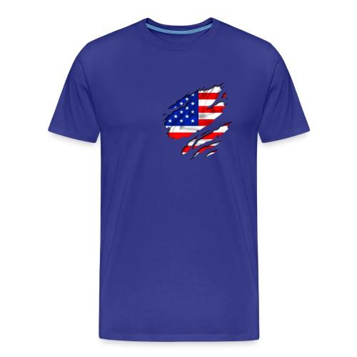 American Heart - Maglietta Premium da uomo