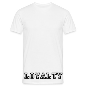 Loyalty Crewnumber Tee - Mannen T-shirt