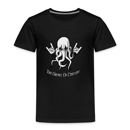 Growl of Cthulhu femme - T-shirt Premium Enfant