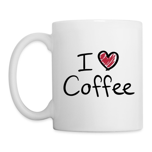 I love coffee mugg - Mugg
