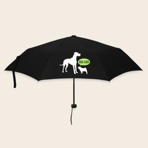 Mops Ego Schirm - Regenschirm (klein)