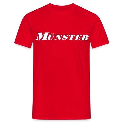 T-Shirt Münster - Männer T-Shirt