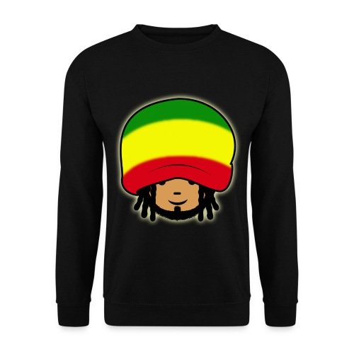 Sort sweatshirt med Bob Marley. - Herre sweater