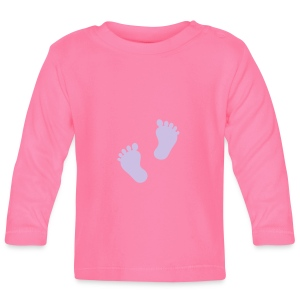 Patter of Tiny Feet - Baby Long Sleeve T-Shirt