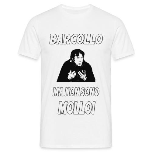 BARCOLLO classica bianca - Maglietta da uomo