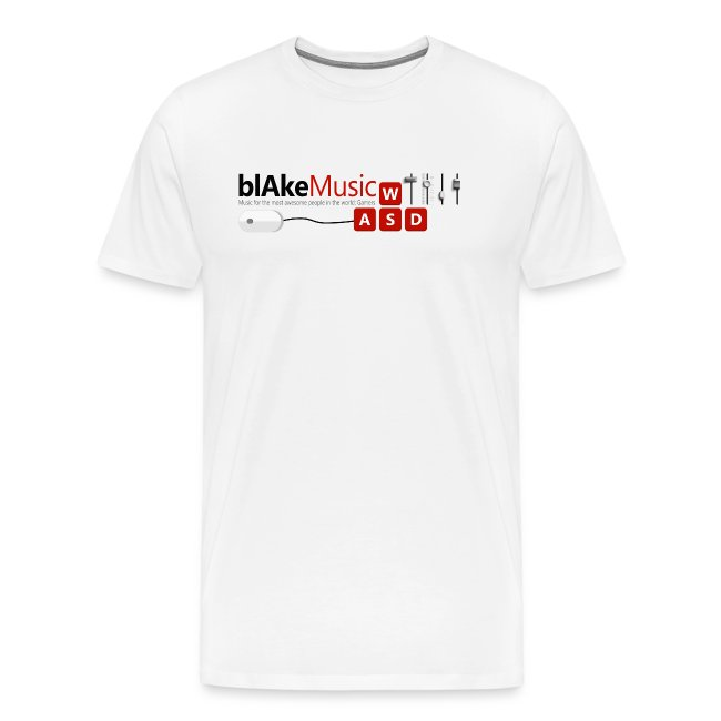 blAkeMusic Logo Shirt White