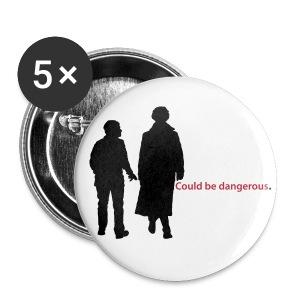 Could be dangerous pins - Buttons medium 32 mm
