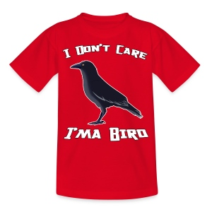 I Don't Care - Kids' T-Shirt