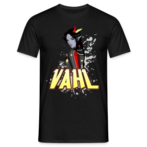 Vahl - Cel Shaded - Men's T-Shirt