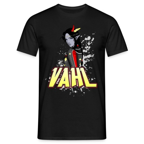 Vahl - Cel Shaded - Men's T-Shirt