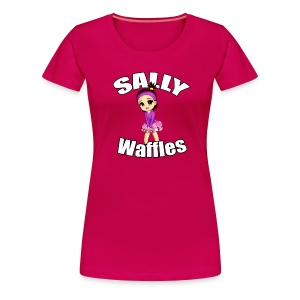 Sally Waffles - Women's Premium T-Shirt