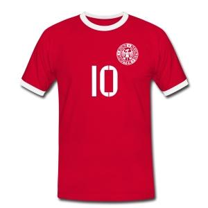 ZHAO BARAH - Männer Kontrast-T-Shirt