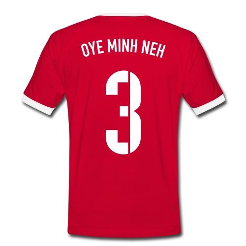 OYE MINH NEH - Männer Kontrast-T-Shirt