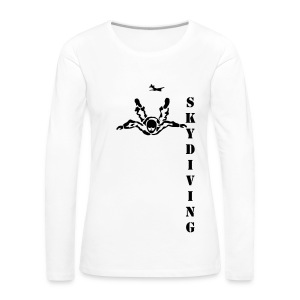 Skydiving472 - Women's Premium Longsleeve Shirt