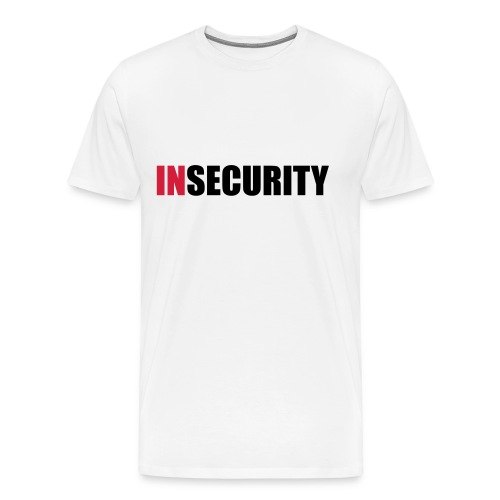 INsecurity - Men's Premium T-Shirt