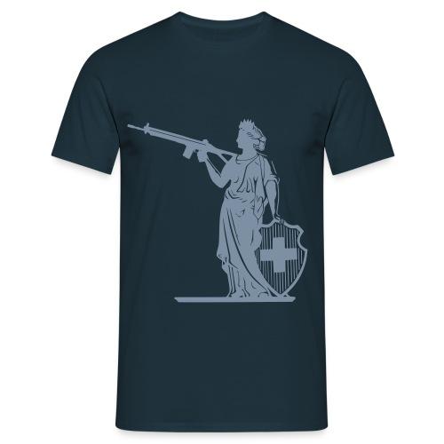 Heil dir Helvetia - Männer T-Shirt