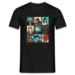 PopArtff7 - T-shirt Homme