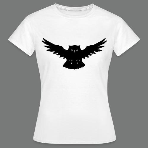 Eule im Angriff - Frauen T-Shirt