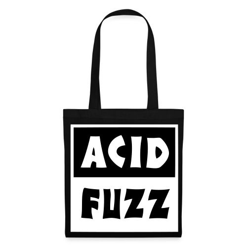 acid_fuzz_bk - Tote Bag
