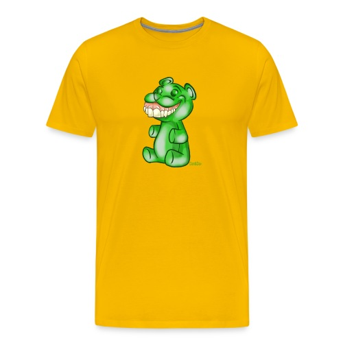 Green Gummy Bear - Maglietta Premium da uomo