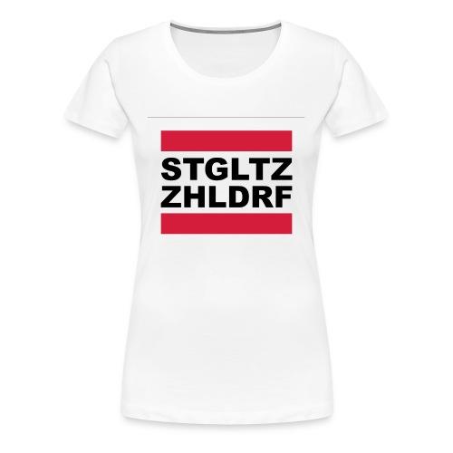 T-Shirt Premium Frauen - Frauen Premium T-Shirt