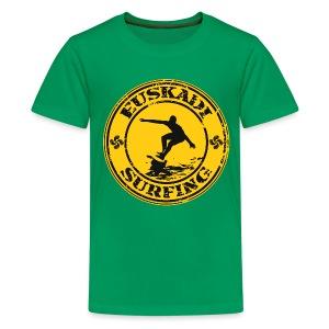 Euskadi surfing - Teenage Premium T-Shirt