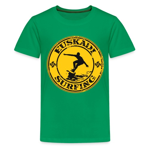 Euskadi surfing - Teenage Premium T-Shirt