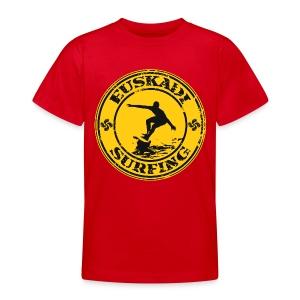 Euskadi surfing - Teenage T-shirt