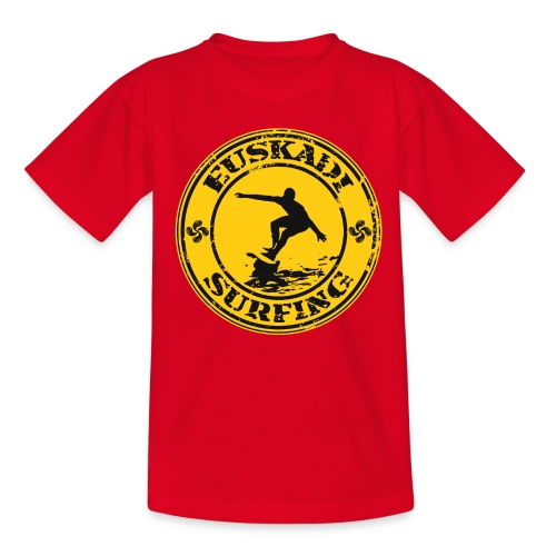 Euskadi surfing - Teenage T-Shirt