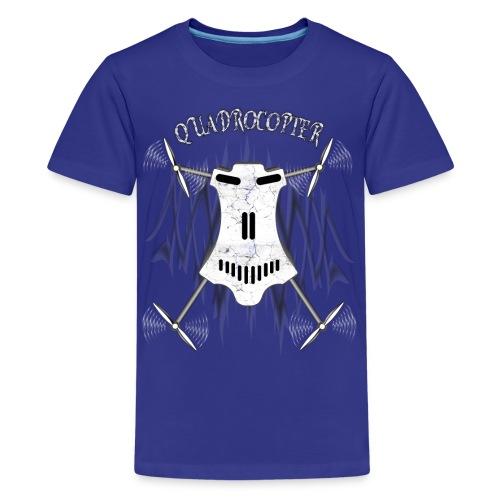 Quadrocopter / Multicopter T-shirt - Teenager Premium T-Shirt